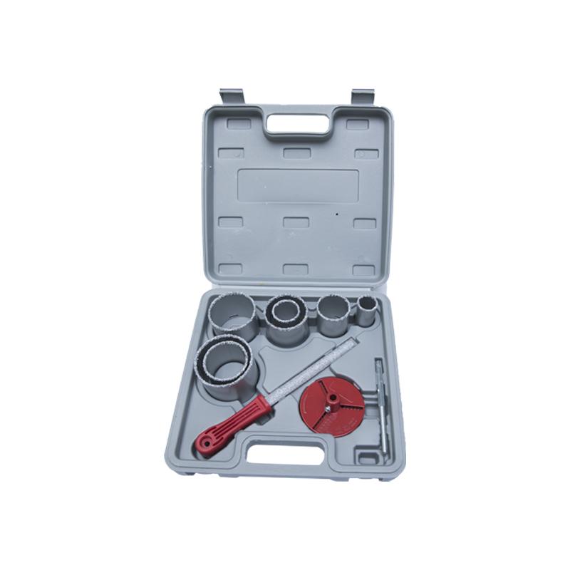 Juego de sierra perforadora de carburo de tungsteno de 10 piezas